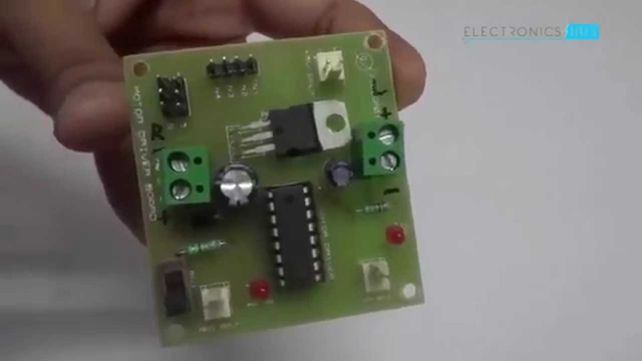 Dtmf Controlled Robot Without Microcontroller Youtube Decoder Circuit