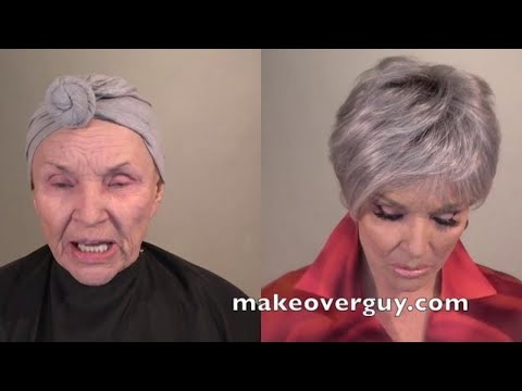 78 Year Old Recreates Her Younger Face with Makeup