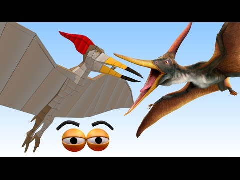 CUBE BUILDER for KIDS (HD) - Build a Pteranodon Dinosaur for Children - AApV