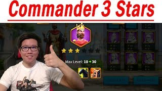 Commander 3 Stars Upgrade | Rise of Civilizations