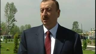 İlham Əliyevin Sabirabadın Qasımbəyli kənd sakinləri ilə görüşü zamanı nitqi