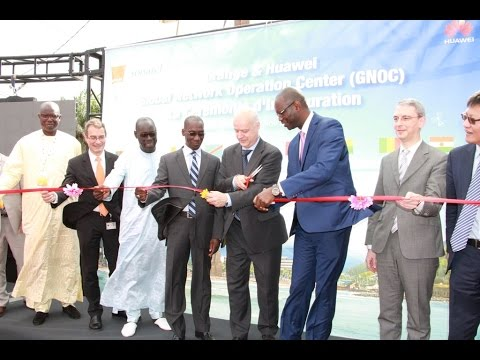 Inauguration du siège du GNOC (Global Network Operation Center) à Dakar