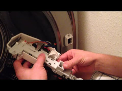 Front Load Washer Door Latch Troubleshooting Replacement