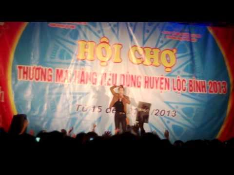 Châu Khải Phong..[ Không thể bên em ]..biểu diễn tại Lộc Bình