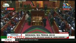 MPs go against Uhuru and Raila as they vote in solidarity for zero levies as voting continues