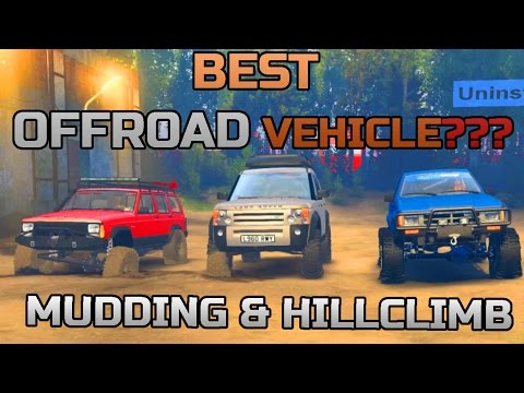 SPIN TIRES | BEST OFFROAD VEHICLE?? | JEEP | LAND ROVER | 4 RUNNER