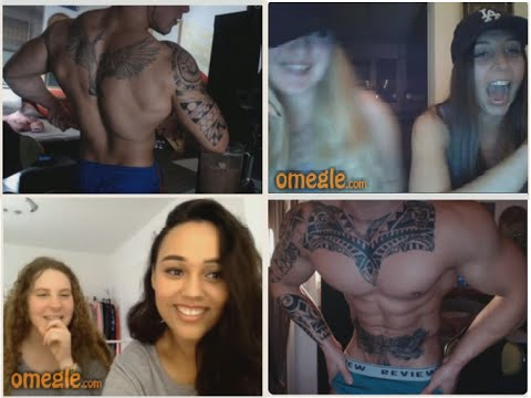Omegle girls reaction 1