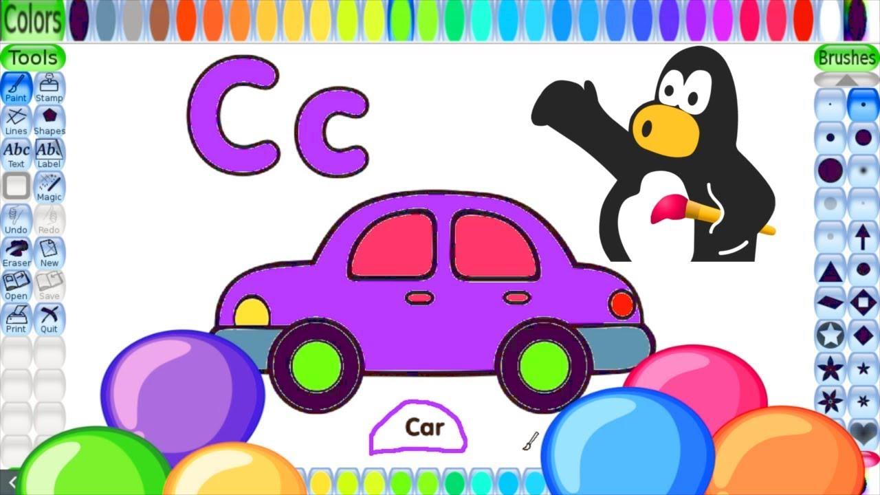 Alphabet ABC Coloring Pages | Coloring Book | Coloring Letter C ...