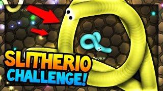 SLITHER.IO CHALLENGE w/MrWoofless