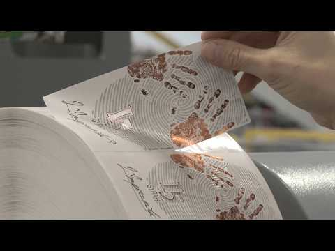 CARTES GT365HFSRL Machine To Produce Self-adhesive LABELS