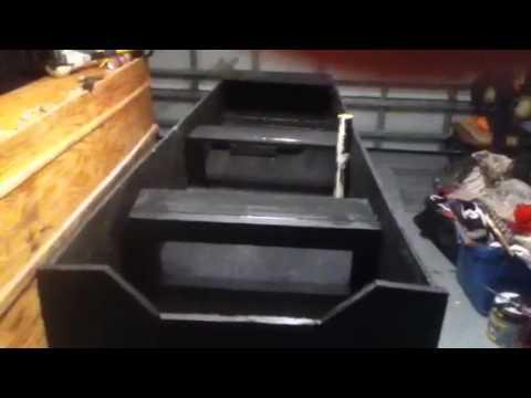 Plywood Jon Boat 2 Youtube