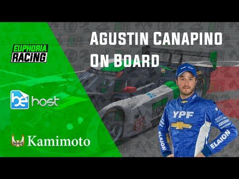 On board Agustin Canapino | Chevrolet C7 DP | Liga Nacional BSRSeries | Sebring International