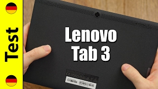 Lenovo Tab 3 10 (Plus/Business) Test (deutsch)