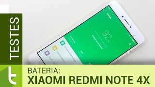 Autonomia do Xiaomi Redmi Note 4X | Teste de bateria oficial do TudoCelular