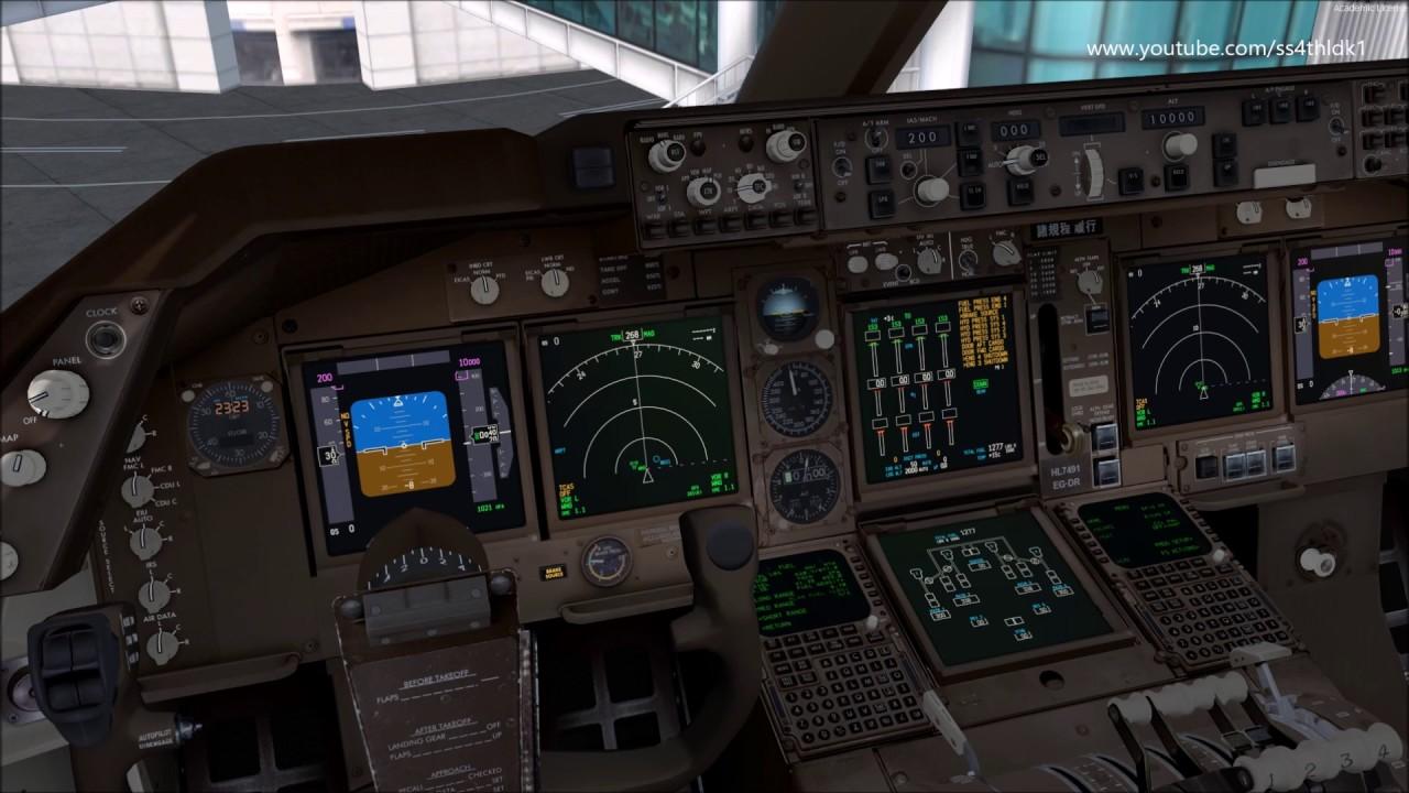 P3D/fsx PMDG 747 V3 Fuel pump system tutorial