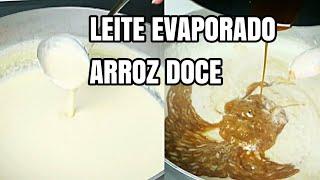 Como preparar o Leite Evaporado para usar em suas receitas – Não encontramos esse tipo de Leite no Brasil