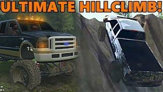 Spin Tires DIESEL TRUCKS HILLCLIMB CHALLENGE