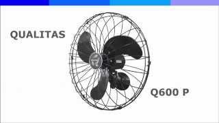 Ventilador de Parede Qualitas Q600 P | Cia Vento