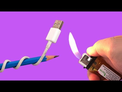 4 Increíbles Trucos con Cable USB