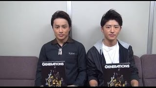 GENERATIONS from EXILE TRIBE Official HP http://generations-ldh.jp/...