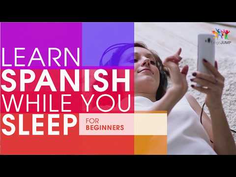 Learn Spanish While You Sleep! For Beginners! Learn Spanish Words & Phrases While Sleeping!