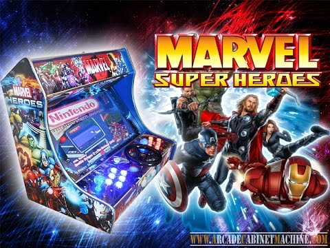 marvel heroes arcade machine