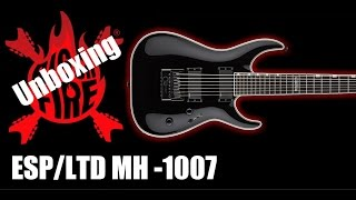 Unboxing   ESP/LTD- MH 1007 Evertune