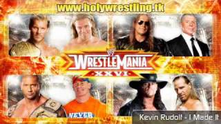 Wrestlemania XXVI theme - Kevin Rudolf - Made It hq