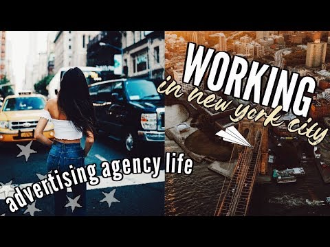 work day in my life in new york city!! || advertising agency life