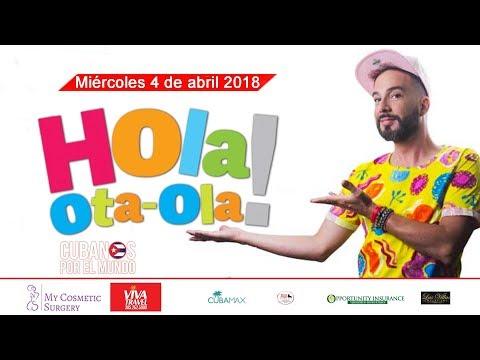 Hola! Ota-Ola con Alex Otaola en vivo por Cubanos por el Mundo (miércoles 4 de abril 2018)