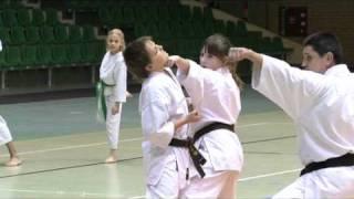Trening karate Maciej Grubski 6 DAN oraz Robert Moskwa 1Dan