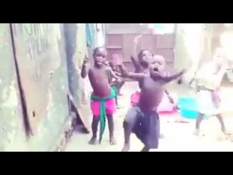 Uganda :At age 9..the young African superstar has 3back up dancers
