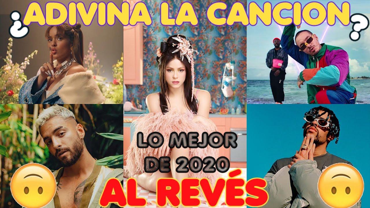 Adivina La Canción AL REVÉS 🙃 LO MEJOR DE 2020 🔥