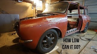 Setting the stance and ride height - Project Frankenwagon, ep. 12