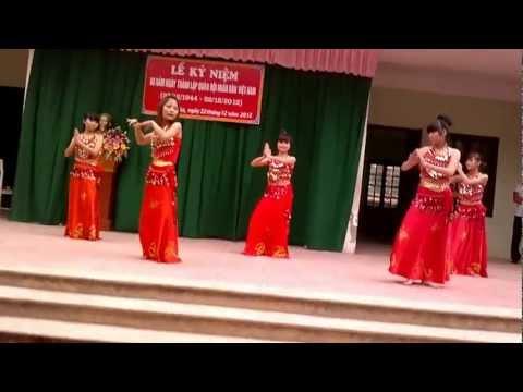 Sv Thọ An múa Made in India + nhảy Hoài Bão