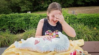 Real Reborn Baby Unboxing Madison Gets a *NEW* Lifelike Reborn BABY Doll Box Opening at the Park