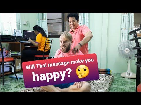 Thai massage. Do you love pain? Тайский массаж в Бангкоке. Вы любите боль?