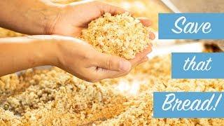 Homemade Breadcrumbs: Quick Tip to Preserve Leftover Bread
