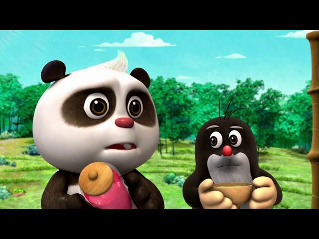 Krtek a panda epizoda 15 - Velké horko