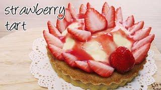 [몽브셰] '꿈빛파티시엘' 스리에 드 랑쥬 만들기 (yumeiro patisserie-strawberry tart)