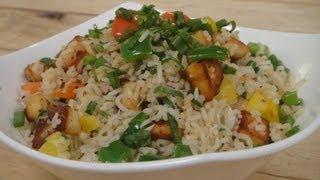 Paneer Pepper Rice