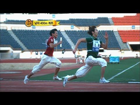 【TVPP】2AM - M 400m Relay, 투에이엠 - 남자 400미터 계주 @ 2010 Idol Star Championship
