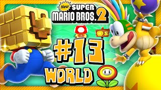 New Super Mario Bros 2 3DS - Special World Fire Flower (2/2) (2 Player) 100%