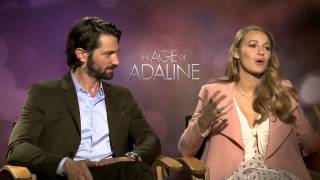 The Age of Adaline: Blake Lively & Michiel Huisman Exclusive Interview