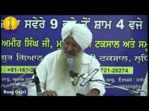 Gurmat Sangeet Workshop 2016 - Raag Gujri - Prof Tejinder Singh ji