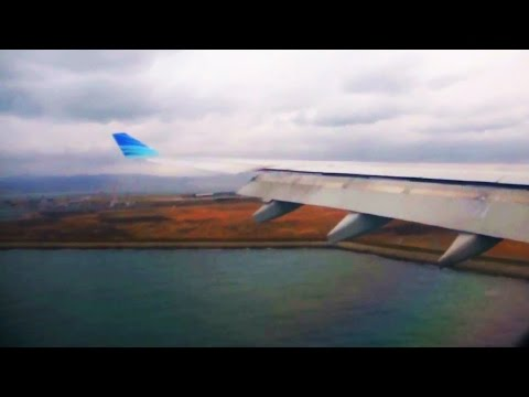 Offshore Landing in Osaka | A330-300