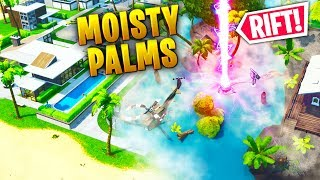 *NEW ZONE* MOISTY PALMS COMING!!! - Fortnite Funny WTF Fails and Daily Best Moments Ep.1340