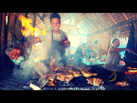 $3 Squid BBQ - Philippines Beach Food
