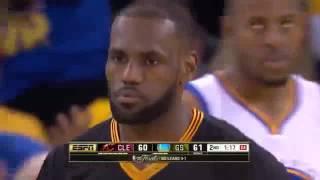 LeBron James 41 points vs Warriors (13/06/2016)
