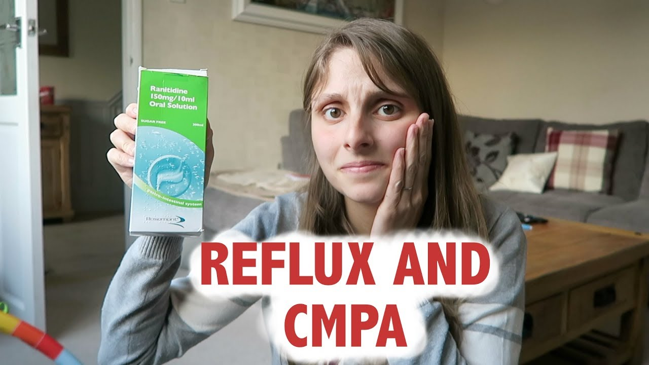 Baby reflux and cows milk allergy